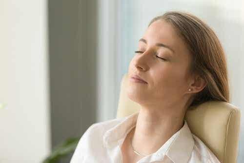 Relaxen helpt om met pijn om te gaan