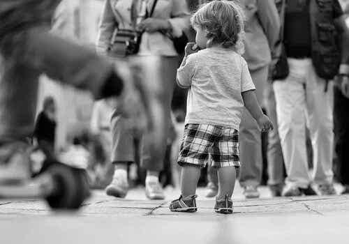 Het experiment met vermiste kinderen