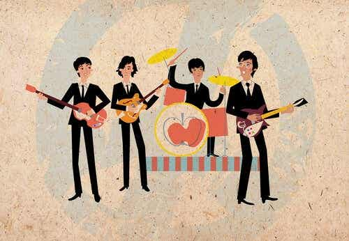 In de muziek van The Beatles vinden we dit soort boodschappen