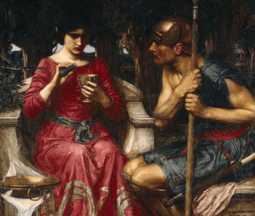 De mythe van Medea, een verliefde tovenares